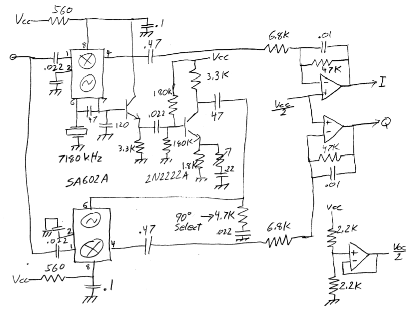 Sa602a Dc Receiver With Quadrature Demodulation